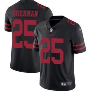 San Francisco 49'ers - NEW Sherman Youth Jersey